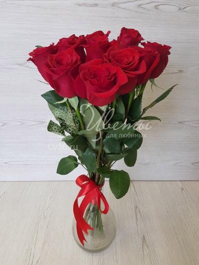 Букет из красных роз «Классика жанра»