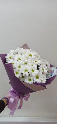 Букет Ромашковидной хризантемы
